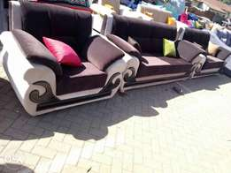 Brown five seater