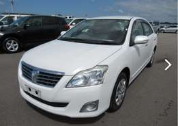 Toyota Premio low mileage 1800cc,2010 model , finance terms accepted