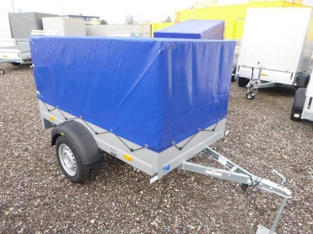 Humbaur Startrailer mit Hochplane 750 kg 2050x1095x300mm