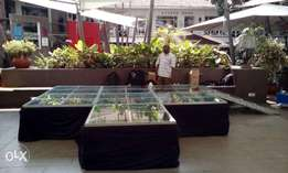 Hire, Design, Install, Operate of staging