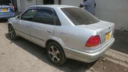 Manual Toyota 110 5A Engine and very clean. 400k Negotiable