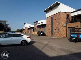 A-Grade Mini Warehouse with Office Central Park Nelspruit