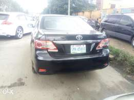 Toyota corolla locally used 2012model for sale