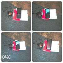Broken screen Itel phone 4 sell with pack/swap