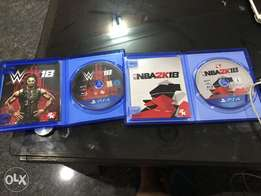 NBK 18 & WWE 18 for Sale/Swap...