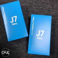 Samsung GalaxyJ7 Neo Brand new, Warranted,Free glass and delivery
