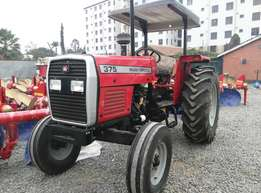 Massey Ferguson 375,Perkins Engine,Warranty,3Disc Plough,75HP,Weights