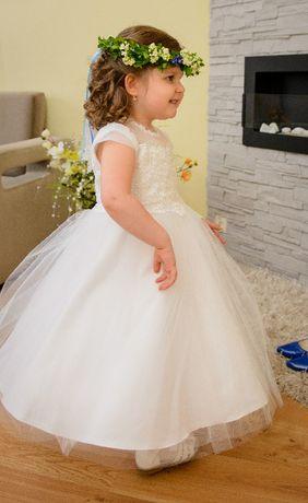 19d4c30008 Sukienka dla dziewczynki ( wesele