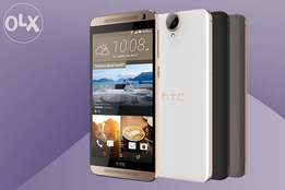 Htc e9+ brand new sealed,one year guarantee at 26999
