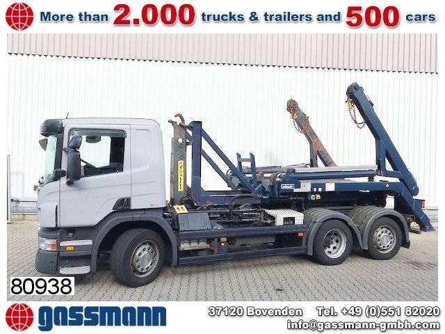 Scania p 270 lb 6x2 hna lift-/lenkachse - 2007