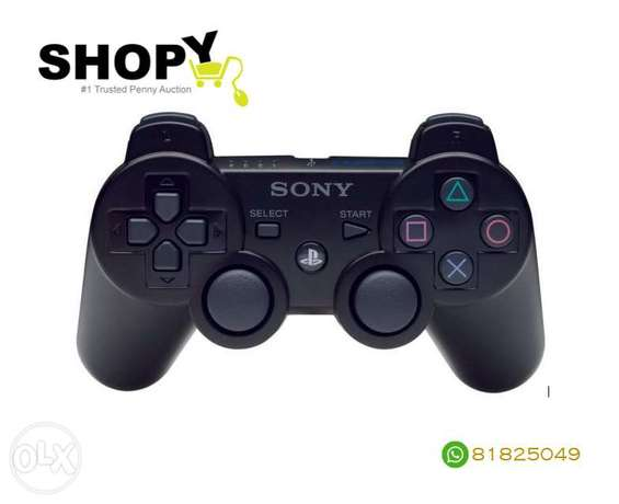 Sony - Dualshock 3 Wireless Controller Black