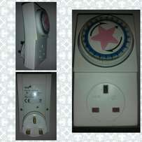 Manual Electric Power Outlet Passage Timer Socket