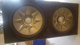 "2x 15"" xtc subwoofers for sale"