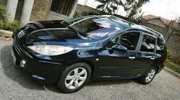 Peugeot 307SW Locally Used 2007 For Quick Sale Asking 700,000/=o.n.o