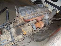 Mercedes Benz Axor 1835 Truck Engine and Gearbox Combo