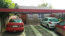 Very neat 2 bedroom grannyflat with garden for rent