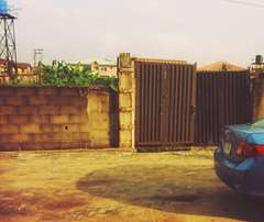 Bungalow on 403sqm land is for sale at Banji Lawal Street, Bariga