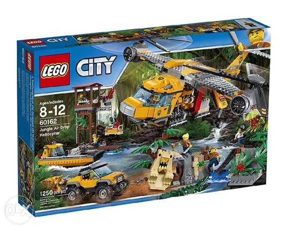 LEGO City Jungle Explorers 60162 Air Drop Helicopter, Multi