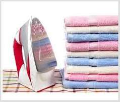 Wash, dry, fold & ironing service, carpet cleaning, sofa and car seats