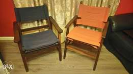 Solid Teak Deck / Patio Chairs