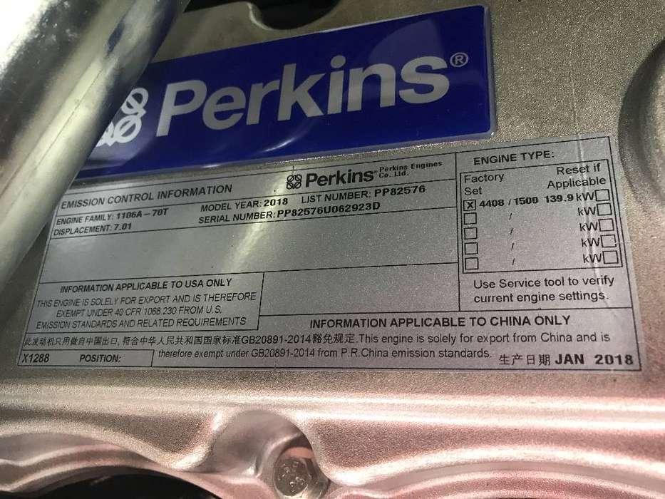 Perkins 1106A-70TG1 - 150 kVA Generator - DPX-15707 - 2019 - image 11