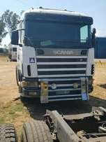 Scania R470 double diff truck
