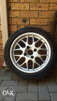 Volvo Tyre and Rim