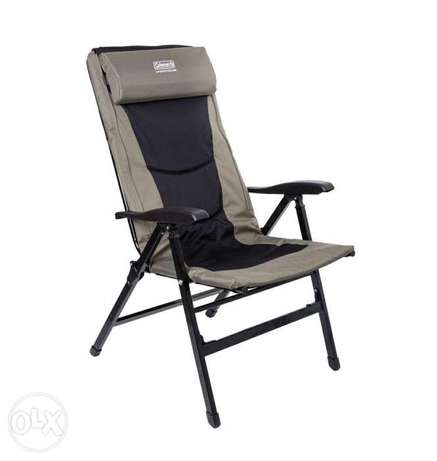 New Coleman 8 Position Recliner Chair