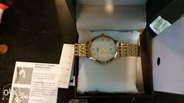 Rotary Sloane Gold Plated Watch for Sale