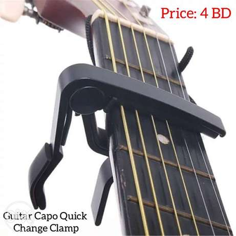 guitar capo, you can use it for all kind of guitars.