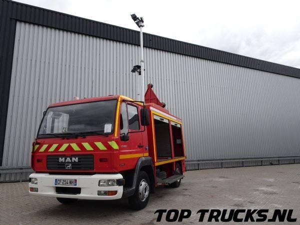 MAN LE180 C, Calamiteiten truck, 18 KVA Electricity generator... - 2002