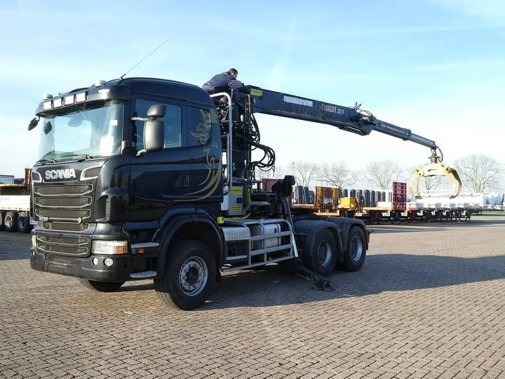 Scania R730 6x4 loglift 281s - 2012