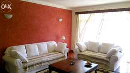 Beautiful and fully furnished 3 bedroom apartment with Dsq and S/pool.