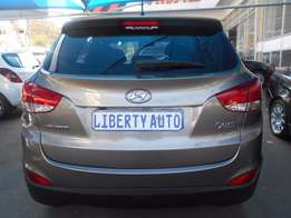2012 Hyundai ix35 2.0 SUV Executive Leather Upholstery 107,949km Manu