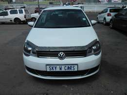 vw polo vivo 1.4 HB 2015 model 32000km white in color R105000