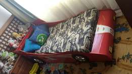 Toddlers car bed