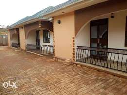 Executive two bedroom house is available for rent in namugongo