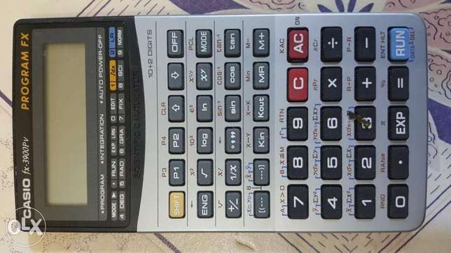 Casio FX3900PV programable calculator