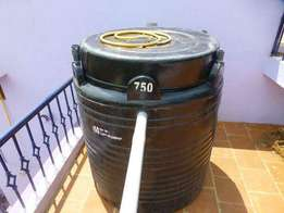 Biogas for home use