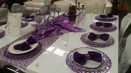 Event decor and equipment hiring for weddings,parties,babyshowers etc