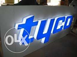 3D sign boards all over Kenya at cheap prices For Restaurant,shops