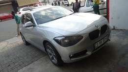 2013 Bmw 1-series 118i sunroof/automatic with 72000km