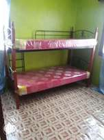 Steel Decker bed 3*6