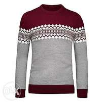 Man's Sweater Red