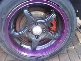 15 inch mags with bridge stone dueler tyres to swop