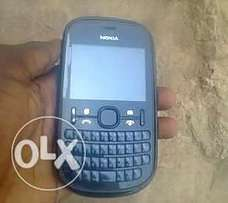 Fairly used Nokia asha 200 dual sim phone.