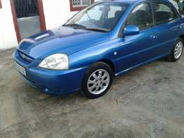 kia rio rs 1.3 2004 for sale 26kz