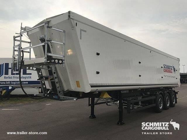 Schmitz Cargobull Semitrailer Tipper Alu-square sided body 54m³ - 2018