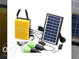 Solar Lighting System Kit