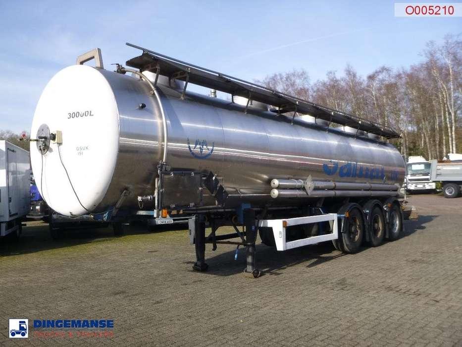 Magyar Chemical tank inox 30 m3 / 1 comp - 1992